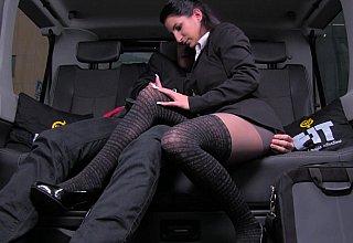 She even fucks a cabbie