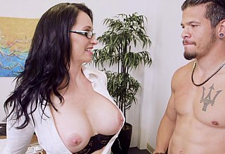 Boss MILF banged